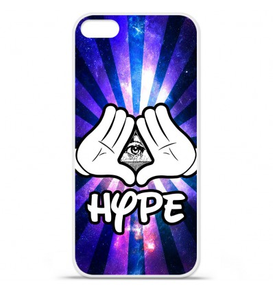 Coque en silicone Apple iPhone SE - Hype Illuminati