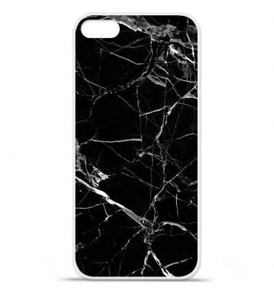 Coque en silicone Apple iPhone SE - Marbre Noir