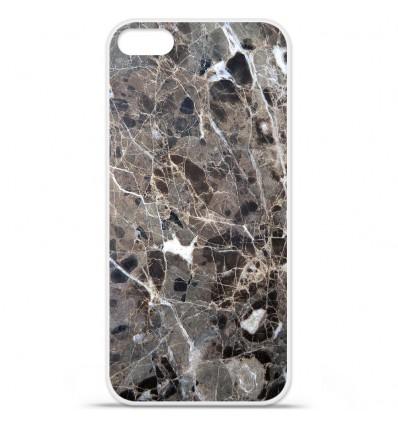 Coque en silicone Apple iPhone SE - Marbre