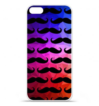 Coque en silicone Apple iPhone SE - Moustache