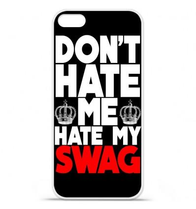Coque en silicone Apple iPhone SE - Swag Hate