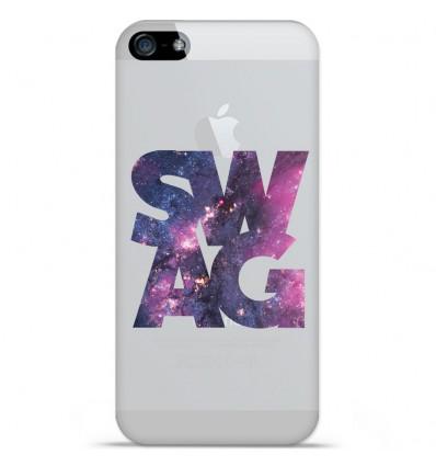 Coque en silicone Apple iPhone SE - Swag Space