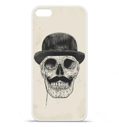 Coque en silicone Apple iPhone SE - BS Class skull