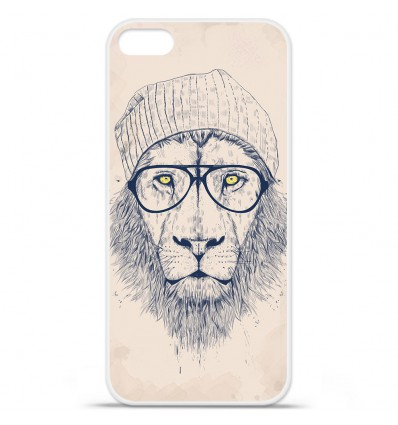 Coque en silicone Apple iPhone SE - BS Cool Lion