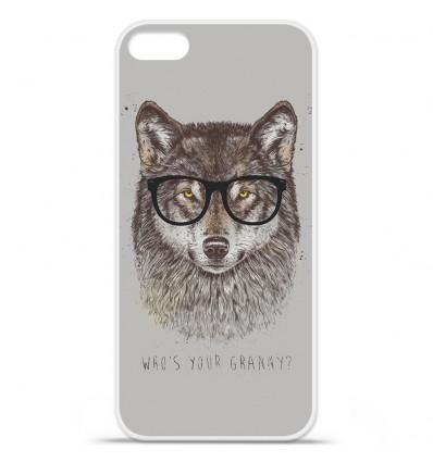 Coque en silicone Apple iPhone SE - BS Granny