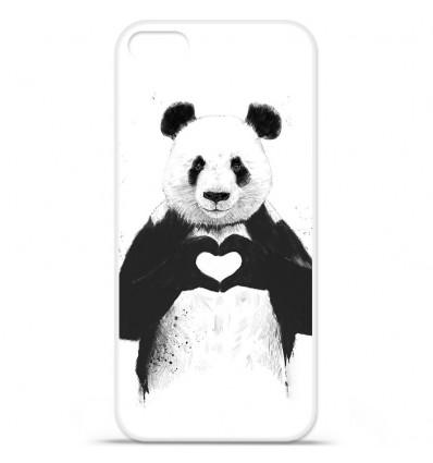 Coque en silicone Apple iPhone SE - BS Love Panda