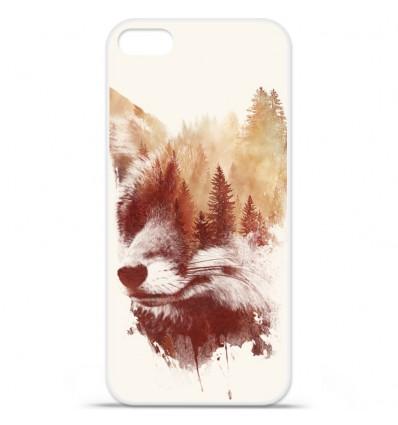Coque en silicone Apple iPhone SE - RF Blind Fox