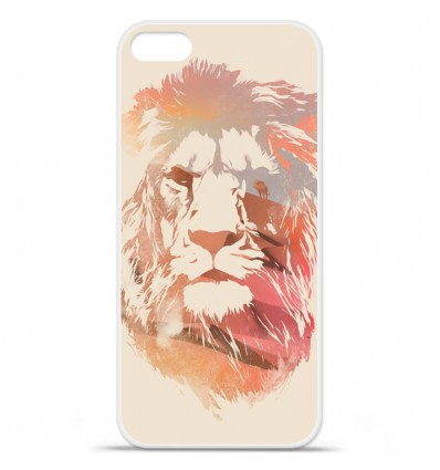 Coque en silicone Apple iPhone SE - RF Desert Lion