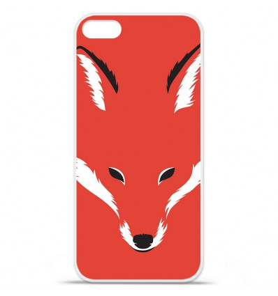 Coque en silicone Apple iPhone SE - RF Foxy Shape