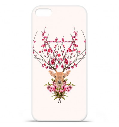 Coque en silicone Apple iPhone SE - RF Spring deer