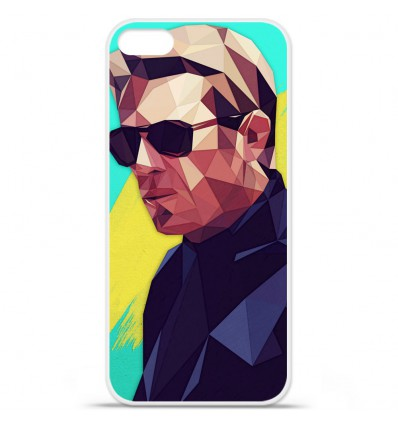 Coque en silicone Apple iPhone SE - ML King of Cool