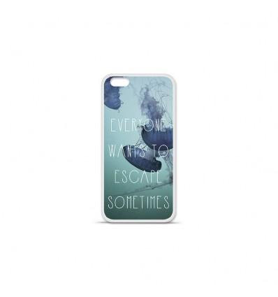 Coque en silicone Apple IPhone 7 - Escape