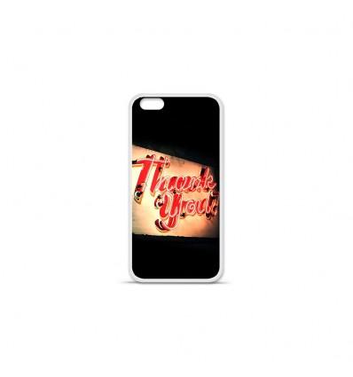 Coque en silicone Apple IPhone 7 - Thank You