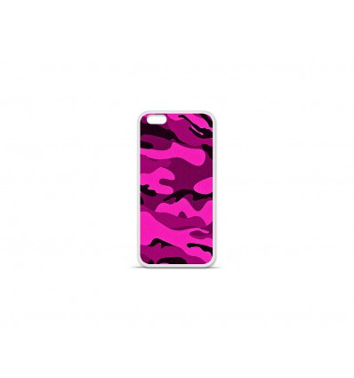 Coque en silicone Apple IPhone 7 - Camouflage rose