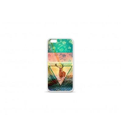 Coque en silicone Apple IPhone 7 - Cerf swag
