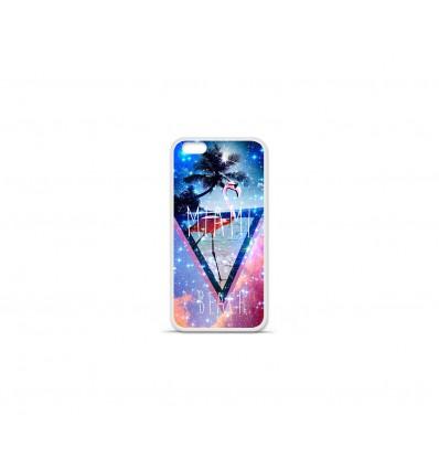 Coque en silicone Apple IPhone 7 - Miami Galaxy