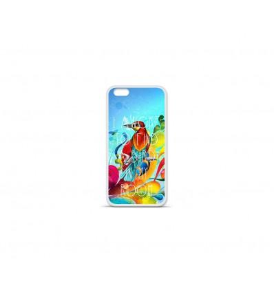Coque en silicone Apple IPhone 7 - Oiseau citation