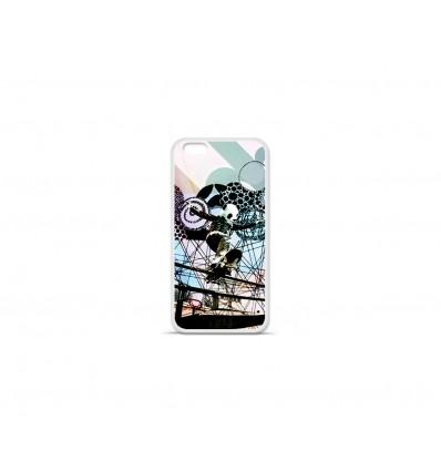 Coque en silicone Apple IPhone 7 - Panda Skate