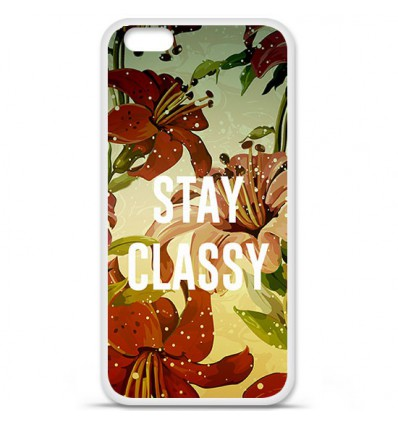 Coque en silicone Apple IPhone 7 - Stay classy