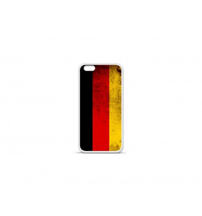 Coque en silicone Apple IPhone 7 - Drapeau Allemagne