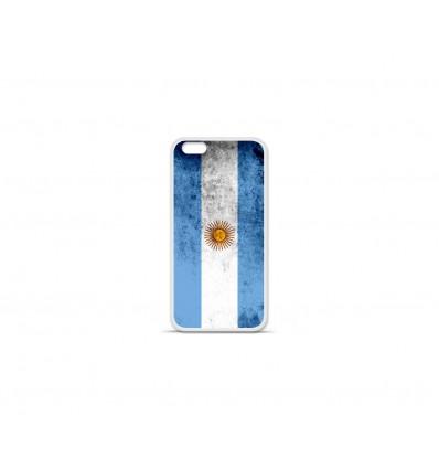 Coque en silicone Apple IPhone 7 - Drapeau Argentine