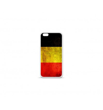 Coque en silicone Apple IPhone 7 - Drapeau Belgique