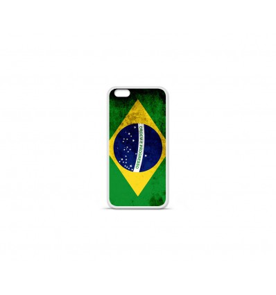 Coque en silicone Apple IPhone 7 - Drapeau Brésil