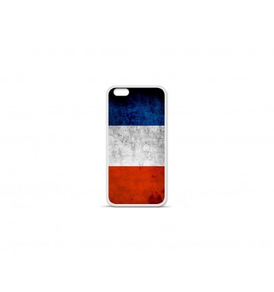 Coque en silicone Apple IPhone 7 - Drapeau France