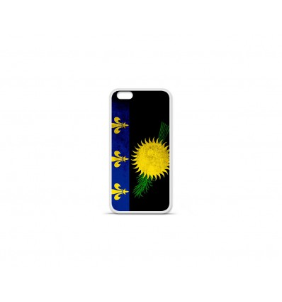 Coque en silicone Apple IPhone 7 - Drapeau Guadeloupe