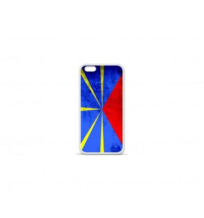 Coque en silicone Apple IPhone 7 - Drapeau La Réunion