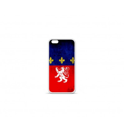 Coque en silicone Apple IPhone 7 - Drapeau Lyon