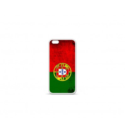 Coque en silicone Apple IPhone 7 - Drapeau Portugal