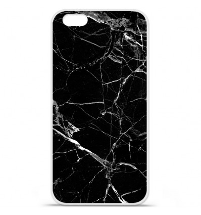Coque en silicone Apple IPhone 7 - Marbre Noir