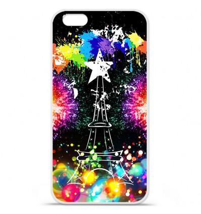 Coque en silicone Apple IPhone 7 - Tour Eiffel Star