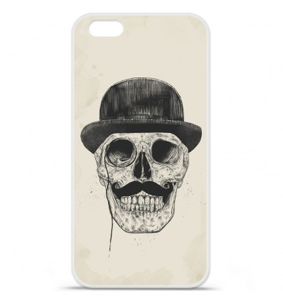 Coque en silicone Apple iPhone 7 - BS Class skull