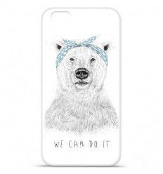 Coque en silicone Apple iPhone 7 - BS We can do it