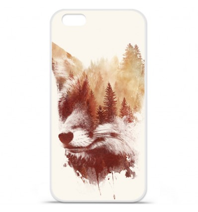 Coque en silicone Apple iPhone 7 - RF Blind Fox