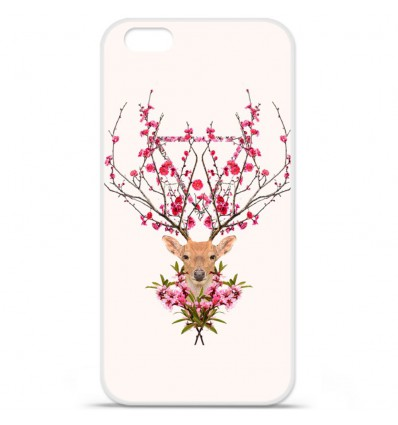 Coque en silicone Apple iPhone 7 - RF Spring deer