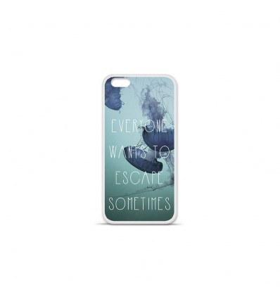 Coque en silicone Apple IPhone 7 Plus - Escape