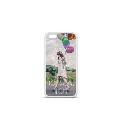 Coque en silicone Apple IPhone 7 Plus - Woman
