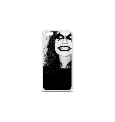 Coque en silicone Apple IPhone 7 Plus - Crow