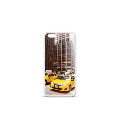 Coque en silicone Apple IPhone 7 Plus - NY Taxi