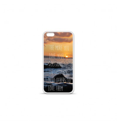 Coque en silicone Apple IPhone 7 Plus - Sunshine