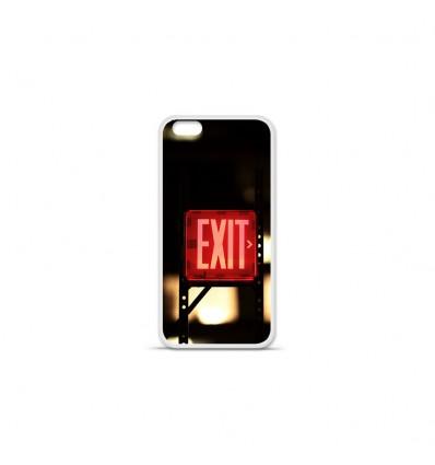 Coque en silicone Apple IPhone 7 Plus - Retro Exit
