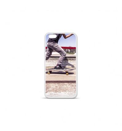 Coque en silicone Apple IPhone 7 Plus - Skate