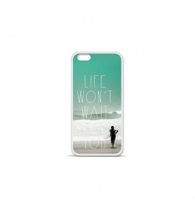 Coque en silicone Apple IPhone 7 Plus - Surfer