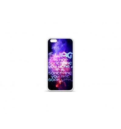 Coque en silicone Apple IPhone 7 Plus - Galaxie swag