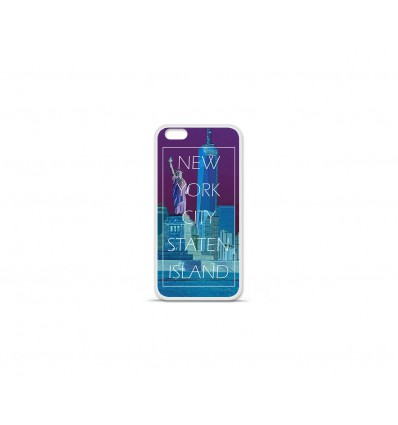 Coque en silicone Apple IPhone 7 Plus - New york