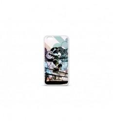 Coque en silicone Apple IPhone 7 Plus - Panda skater