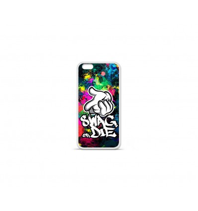 Coque en silicone Apple IPhone 7 Plus - Swag or die